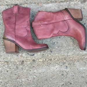 Lucky Brand Women's Elle Cowboy Boots Size 8.5